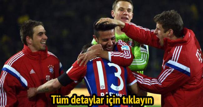 Dortmund Bayern 'e penaltılarda patladı! İşte özet ve golleri