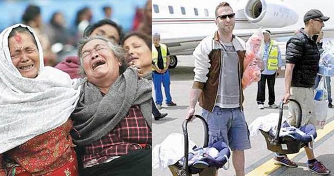 Nepal felaketi İsrailliler'in tezgahını ortaya çıkardı