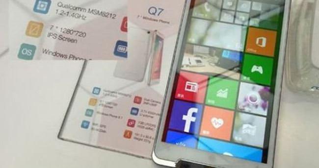 Gelmiş geçmiş en büyük Windows Phone telefon: Ramos Q7