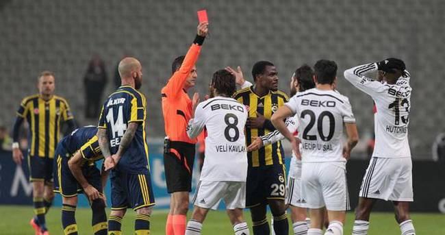 Beşiktaş kırmızı kart rekoruna koşuyor