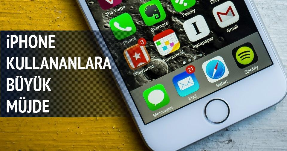 iPhone kullanıcılarına 'batarya' tiyosu