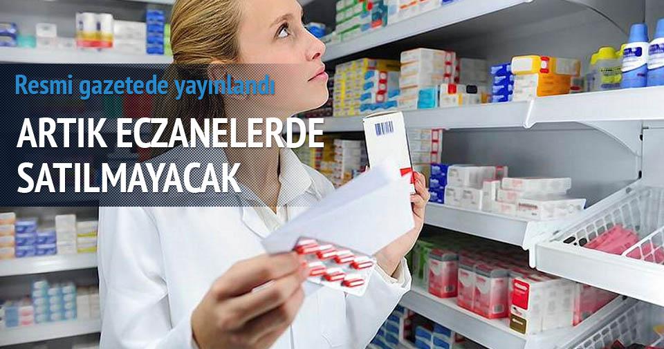 Kanser ilaçları artık eczanalerde satılmayacak