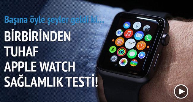 Birbirinden tuhaf 5 Apple Watch sağlamlık testi
