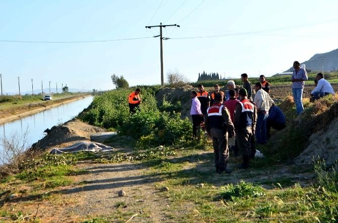 Sulama Kanalına Düşen Kadının Cesedi 4 Km Uzaklıkta Bulundu