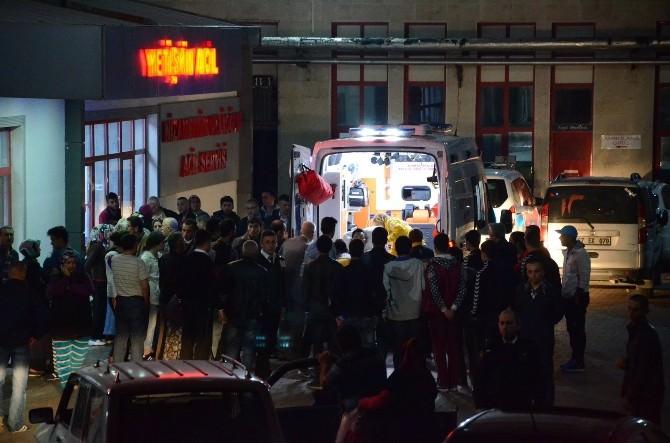 Patlama Sonucu Yaralanan Gençler, Çevre İllerdeki Hastanelere Sevk Edildi