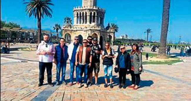 İzmir'in tanıtımı tüm hızıyla sürüyor