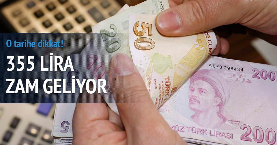 İntibakta o tarihe dikkat! 355 lira zam geliyor