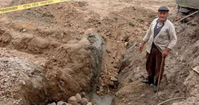 Çanakkale'de temel çukurundan tarih çıktı