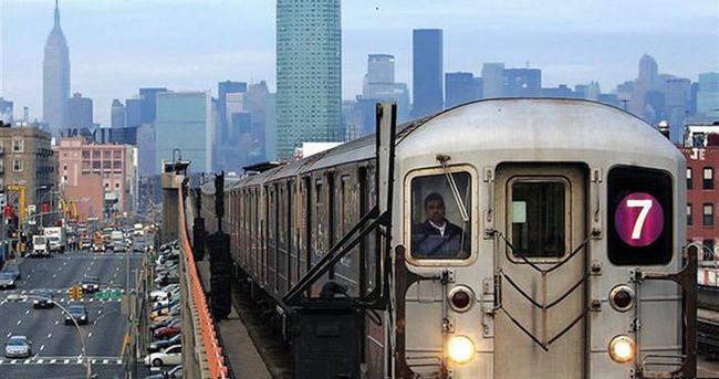 New York'ta otobüs ve metroda siyasi reklam yasak