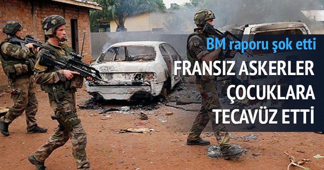 BM raporu: Fransız askerler Orta Afrika Cumhuriyeti'ndeki çocuklara tecavüz etti