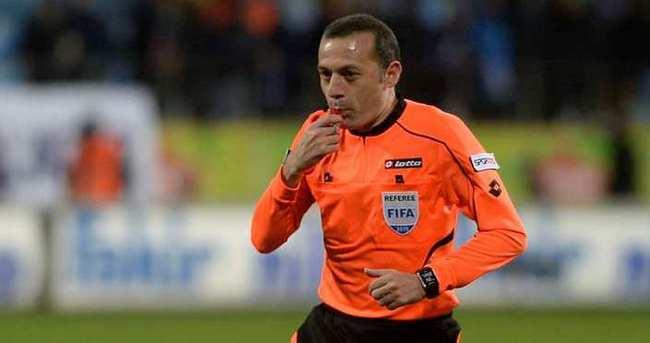 Trabzonspor - Beşiktaş maçı Cüneyt Çakır'ın