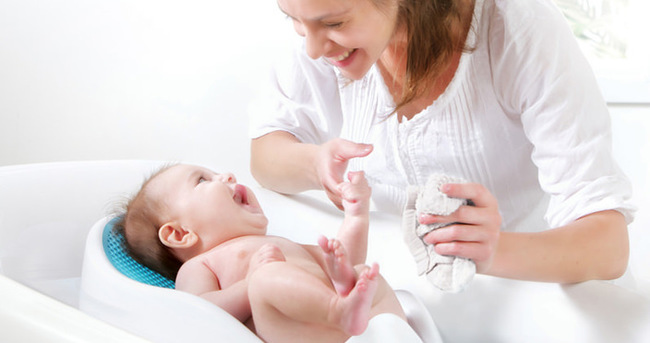 Bebeğinizi çok sık yıkamayın