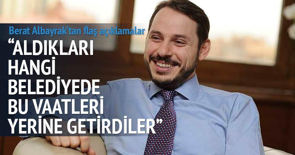 Berat Albayrak: CHP vatandaşla dalga geçiyor