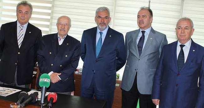 Bursaspor'da 5 başkan adayı