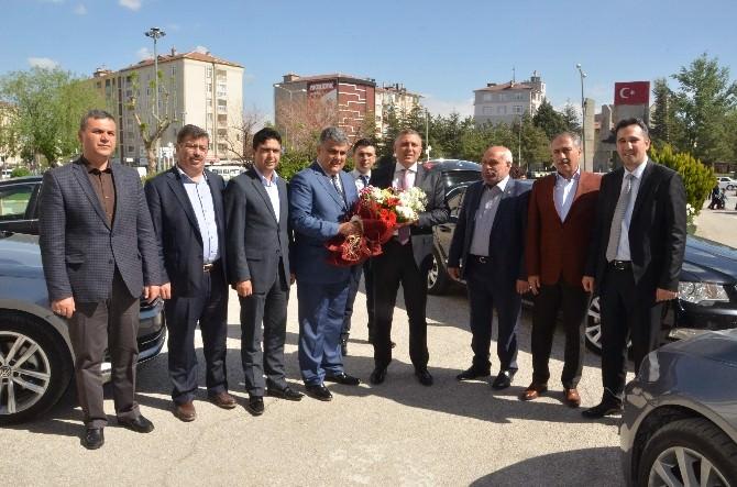 AK Parti İl Başkanı Arat'tan Başkan Özgüven'e Ziyaret