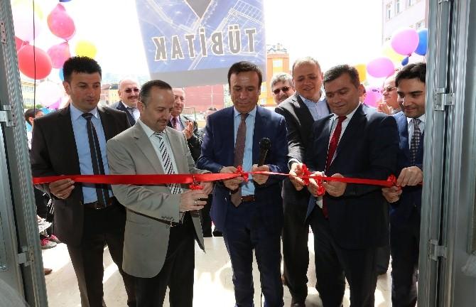 Canik'te 'Bilim Fuarı' Açıldı