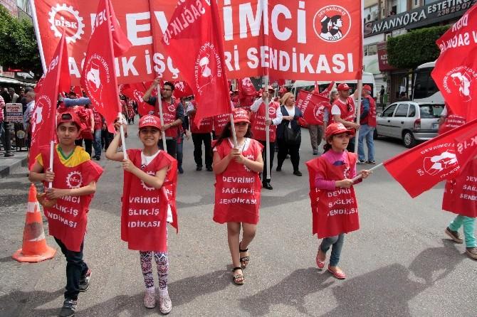 Adana'da 1 Mayıs Kutlaması