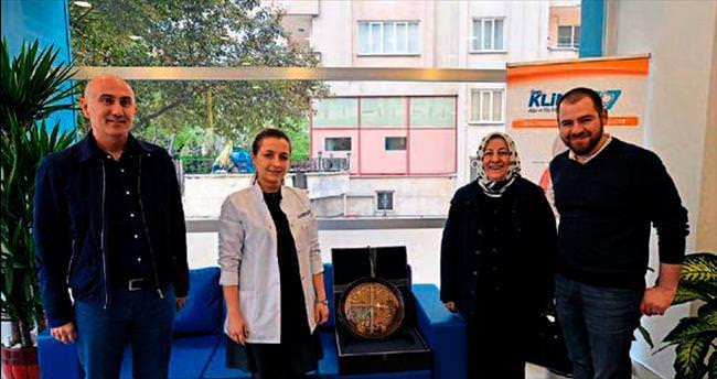 Hasan Kalyoncu'dan Klinik 27'e ziyaret