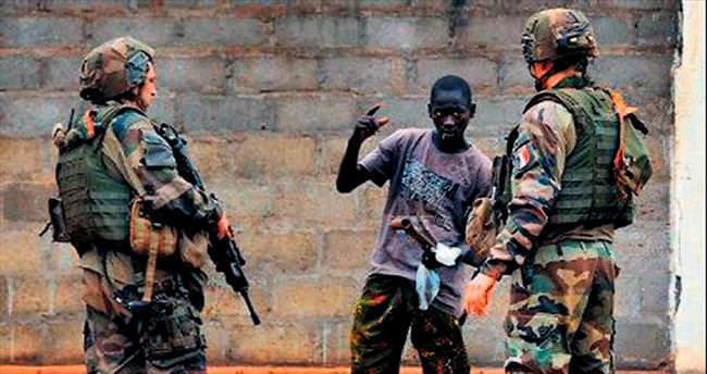 Barış askerlerinden taciz