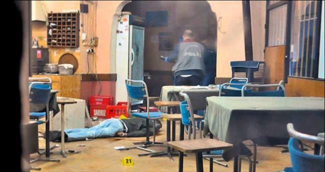 Kahvede pompalı dehşeti: 1 ölü