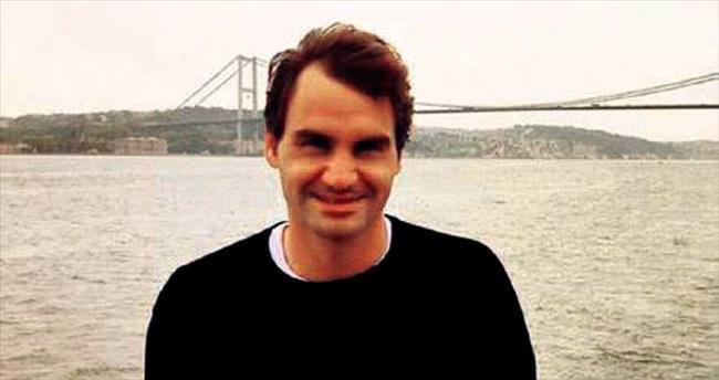 Federer'in Boğaz keyfi