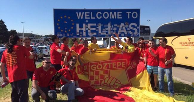 """""""Armanın Peşinde 6700 KM""""kafilesi Yunanistan'da"""