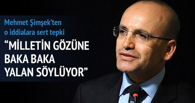 Mehmet Şimşek'ten o iddialara sert tepki