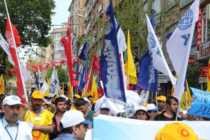 Elazığ!da 1 Mayıs İşçi Bayramı