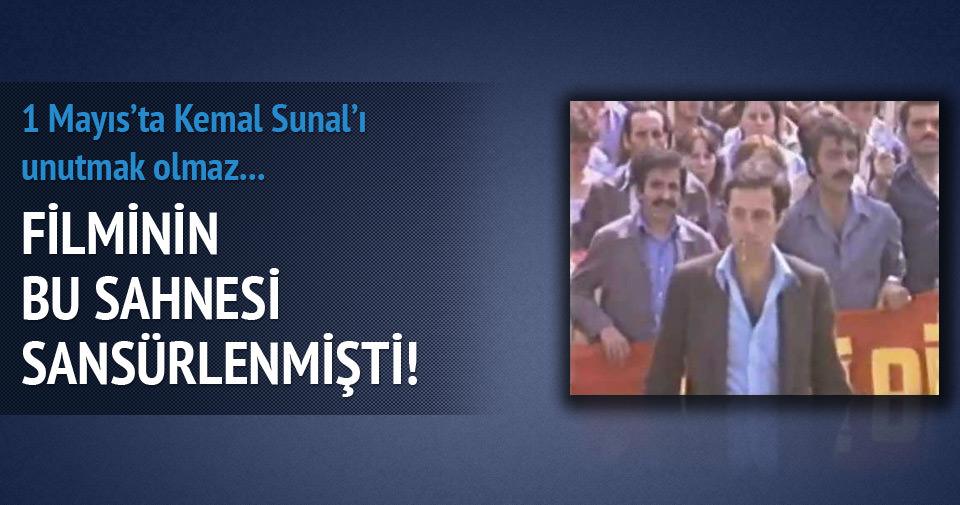 Kemal Sunal'ıın sansürlenen 1 Mayıs sahnesi