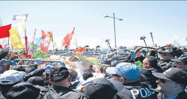 1 Mayıs gerginliği: 5 polis yaralandı