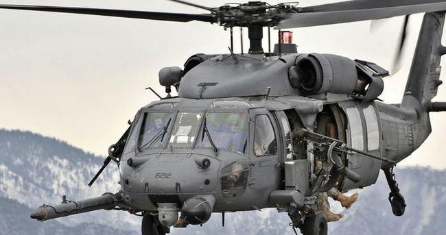 Meksika'da askeri helikopter düşürüldü: 3 ölü