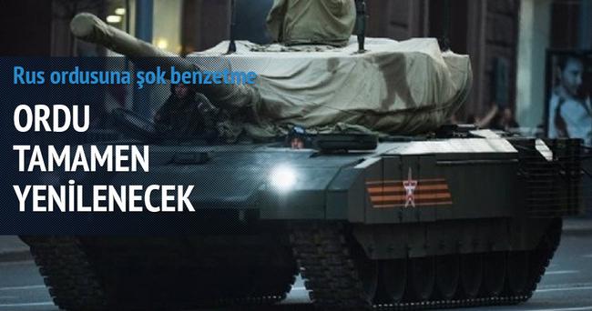 Rus Ordusu yeniden doğuyor