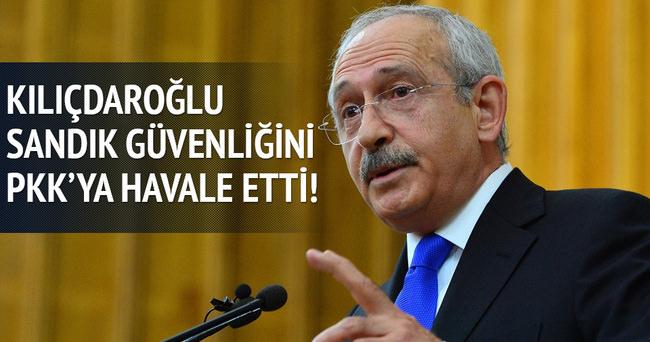 Kılıçdaroğlu'ndan seçim güvenliğiyle ilgili şok açıklama