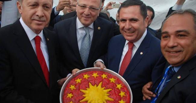 Cumhurbaşkanı Erdoğan'a baklava sürprizi