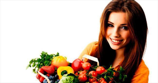 Taze besinler tüketerek zindeliği yakalayın