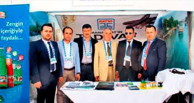 Manavgat'ın ürünleri başkentte sergilendi
