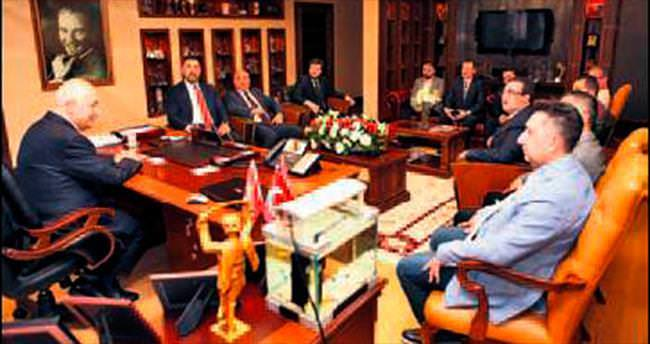 OSTİM GİAD'dan Yaşar'a ziyaret