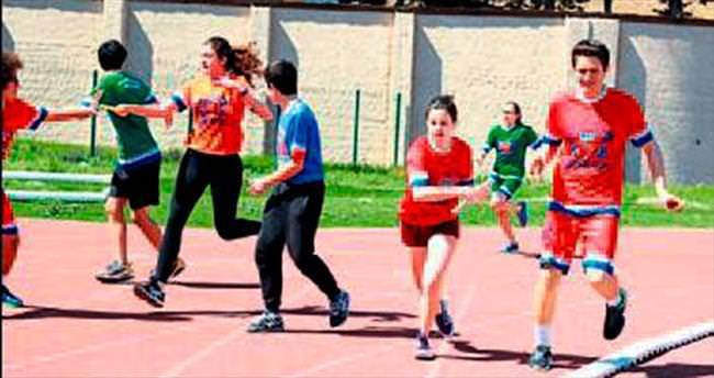 Tarsus'da düzenlenen spor festivalinde buluştular
