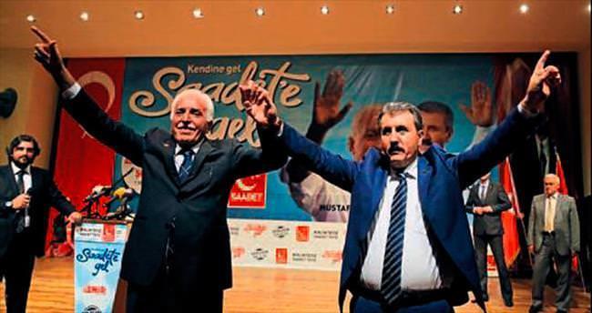 Saadet-BBP adayları tanıtıldı