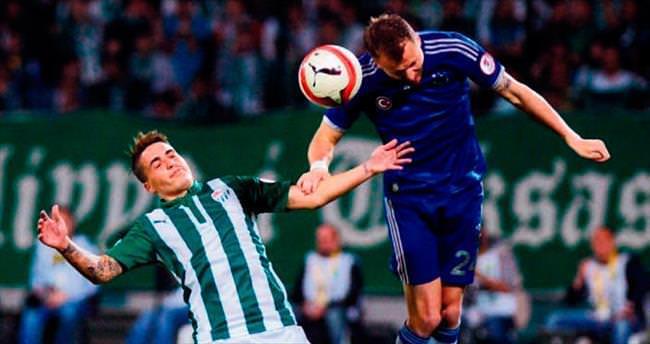 Bursaspor'dan Türk futboluna büyük destek