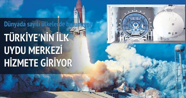 Türkiye'nin ilk uydu merkezi bu ay açılıyor
