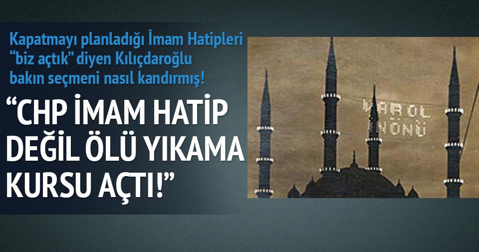 Nabi Avcı: CHP İmam Hatip değil ölü yıkayıcı kursları açtı