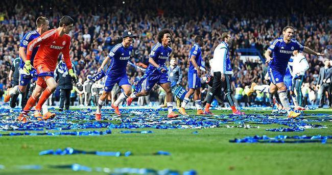 Premier Lig'in şampiyonu Chelsea