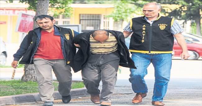 Cezaevi firarisi tacizden yakalandı