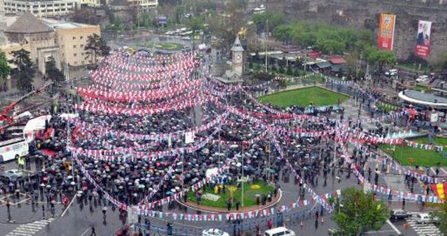 CHP'nin Kayseri mitinginde büyük hüsran!