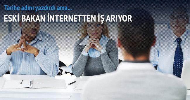 Eski Yunan bakan, internetten iş arıyor