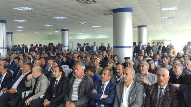 AK Parti Milletvekili Adayları Taşlıçay'da