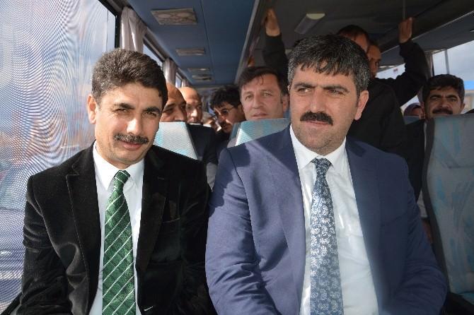 AK Parti Ardahan Milletvekili Adayları Göle'de Seçim Çalışmasını Sürdürdü