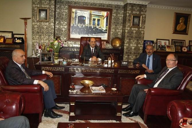 AK Parti Sivas Milletvekili Bilgin'den, Sebob'a Ziyaret