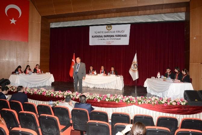 Aksaray'da Kurgusal Duruşma Yarışması